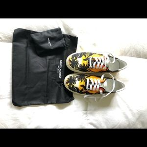 YSL Women's Skate Sunset Palm print. Sz 36 1/2 BNB